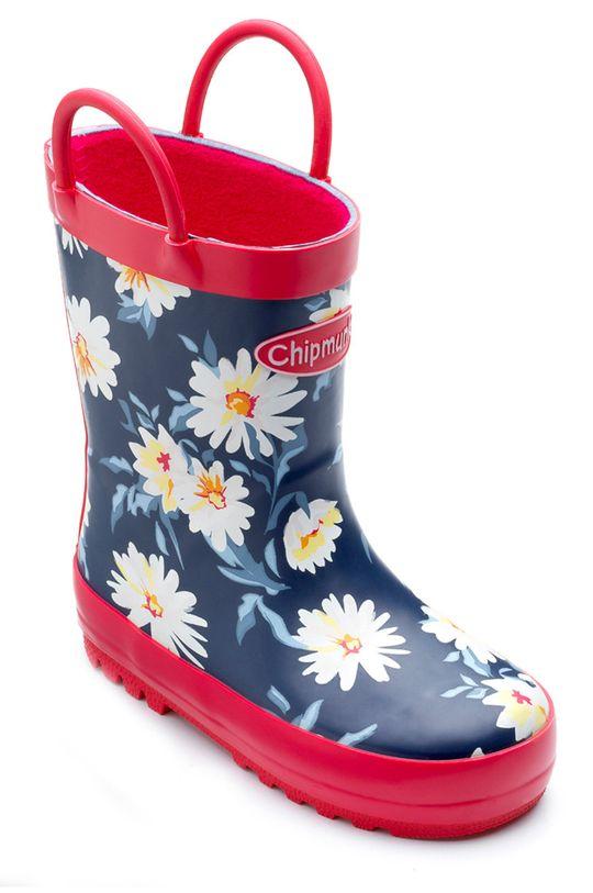 Chipmunks - Kalosze dziecięce Daisy granatowy