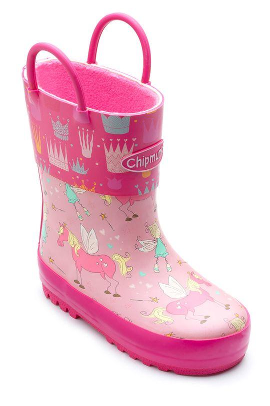 Chipmunks - Cizme copii Princess roz
