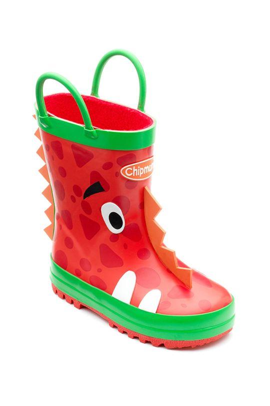 Chipmunks - Kalosze dziecięce Ziggy czerwony