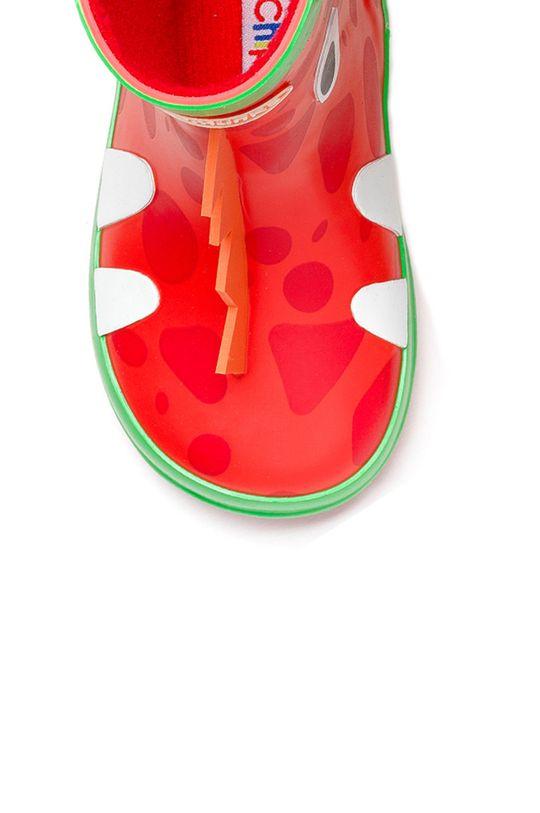 czerwony Chipmunks - Kalosze dziecięce Ziggy