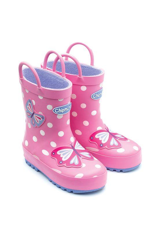 różowy Chipmunks - Kalosze dziecięce Beatrix Dziewczęcy