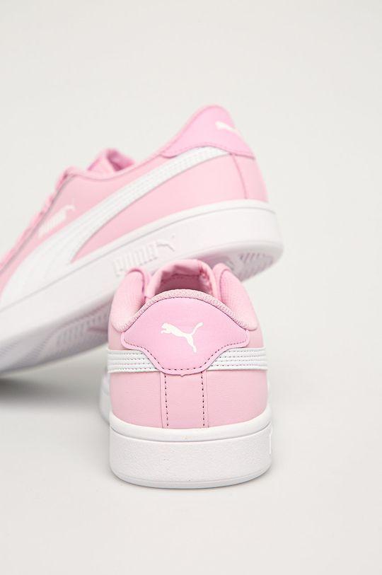 Puma - Dětské boty Smash v2 L  Svršek: Umělá hmota, Přírodní kůže Vnitřek: Textilní materiál Podrážka: Umělá hmota