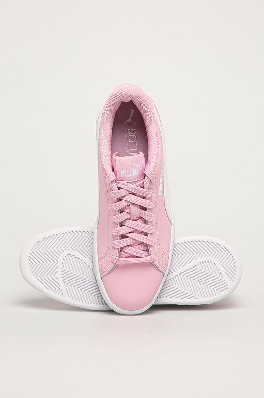 pastelově růžová Puma - Dětské boty Smash v2 L