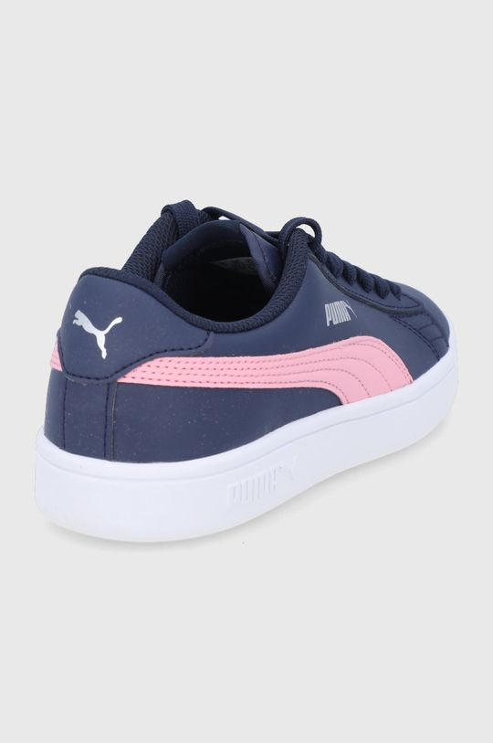 Puma - Detské topánky Smash v2 L  Zvršok: Syntetická látka, Prírodná koža Vnútro: Textil Podrážka: Syntetická látka