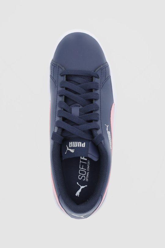 tmavomodrá Puma - Detské topánky Smash v2 L