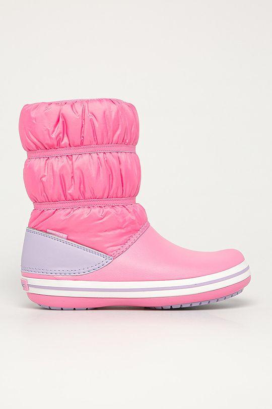 ružová Crocs - Detské snehule Dievčenský