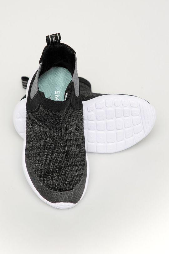 čierna Emu Australia - Detské topánky Fenton