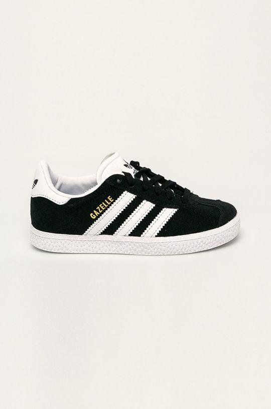 čierna adidas Originals - Detské topánky Gazelle Detský