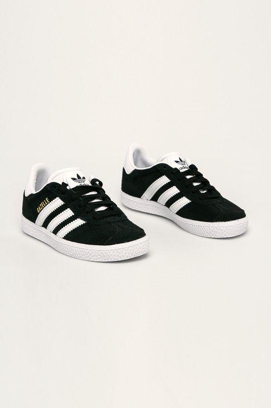adidas Originals - Detské topánky Gazelle čierna