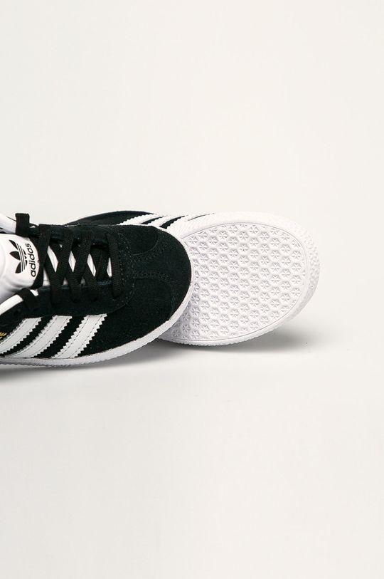 čierna adidas Originals - Detské topánky Gazelle