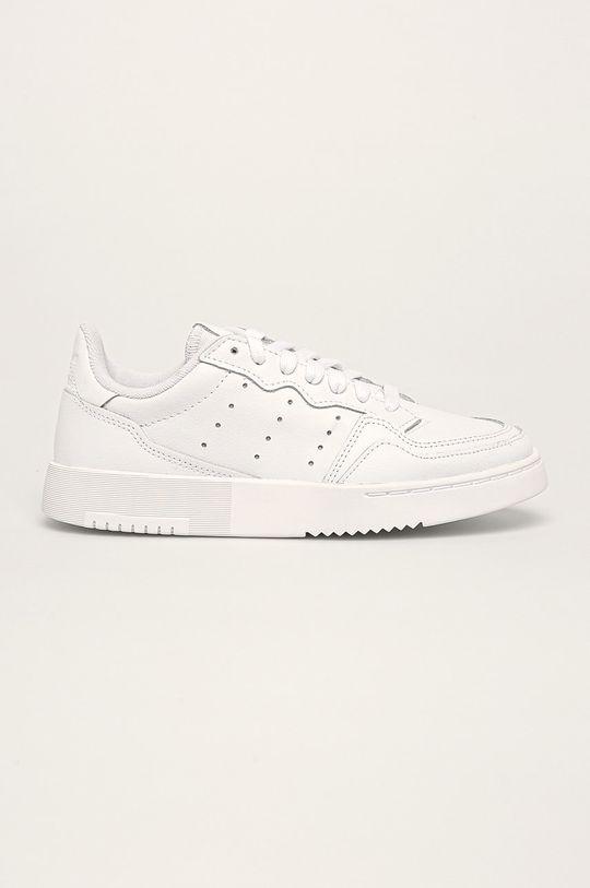 alb adidas Originals - Pantofi copii Supercourt J De copii