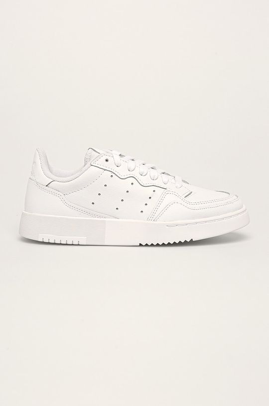 biela adidas Originals - Detské topánky Supercourt J Detský