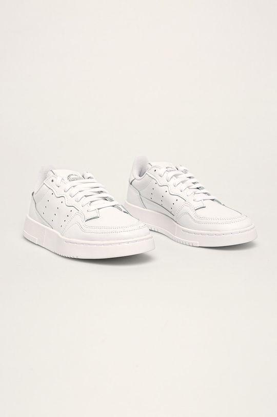 adidas Originals - Buty dziecięce Supercourt J biały