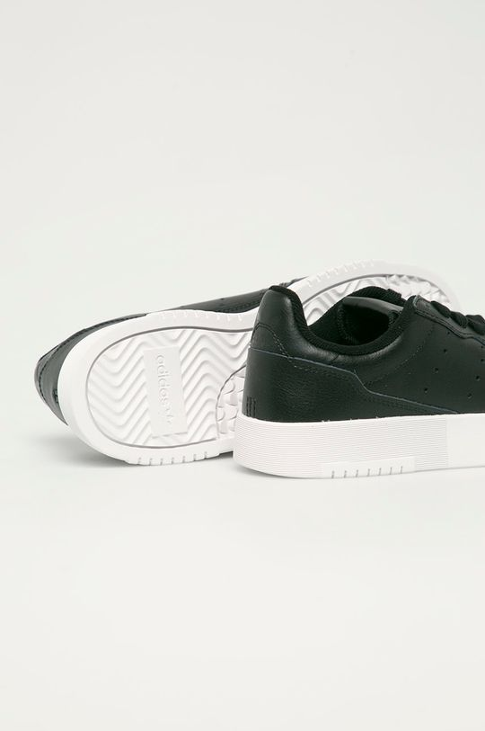adidas Originals - Dětské kožené boty Supercourt J  Svršek: Ovčí kůže Vnitřek: Textilní materiál Podrážka: Umělá hmota