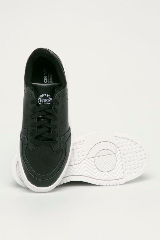 adidas Originals - Dětské kožené boty Supercourt J Dětský