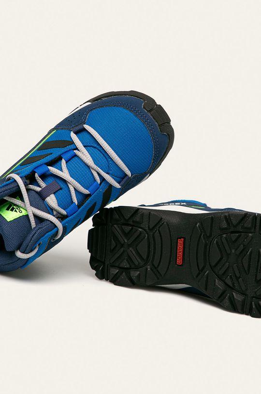 modrá adidas Performance - Dětské boty Terrex Hyperhiker