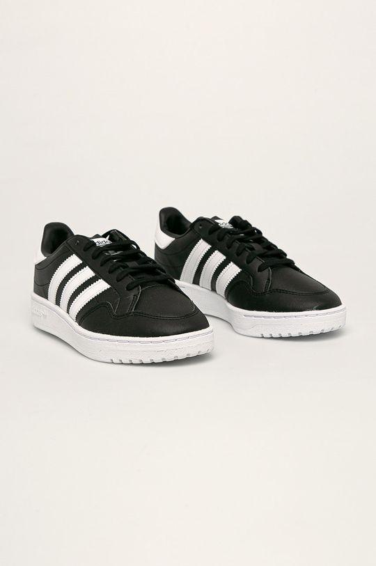 adidas Originals - Buty dziecięce Team Court biały