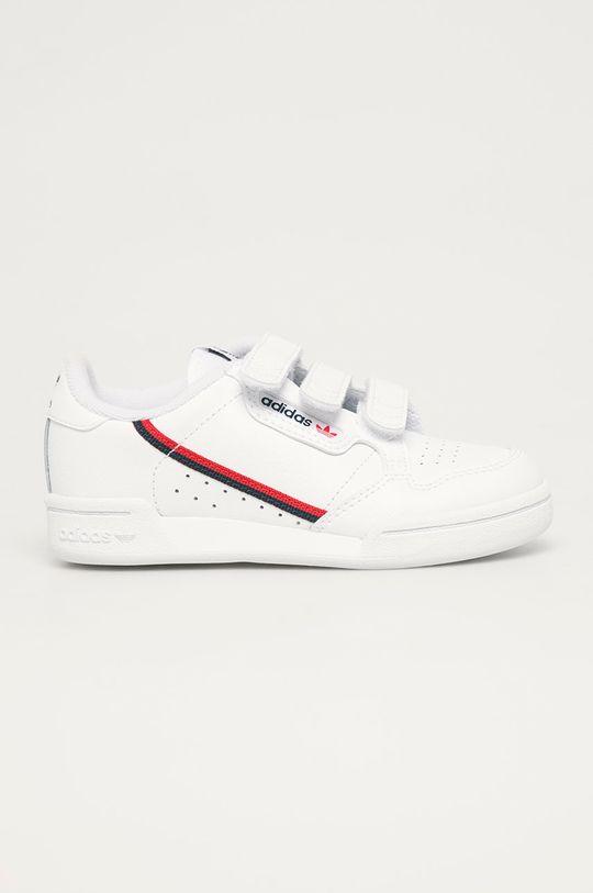 bílá adidas Originals - Dětské boty Continental 80 CF C Dětský