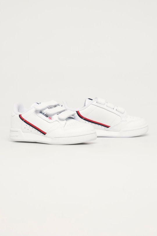 adidas Originals - Dětské boty Continental 80 CF C bílá