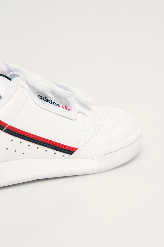 bílá adidas Originals - Dětské boty Continental 80 CF C