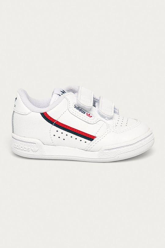 biały adidas Originals - Buty dziecięce Continental 80 CF I Dziecięcy