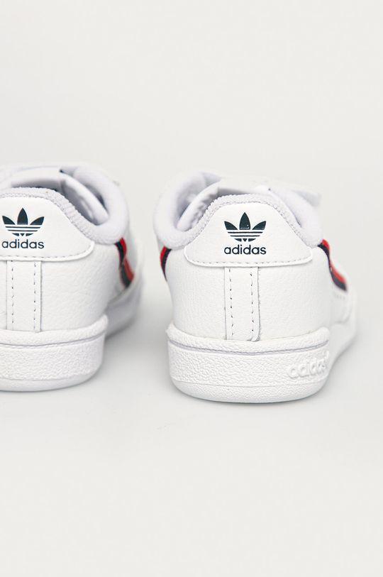 adidas Originals - Buty dziecięce Continental 80 CF I Cholewka: Materiał syntetyczny, Skóra naturalna, Wnętrze: Materiał tekstylny, Podeszwa: Materiał syntetyczny