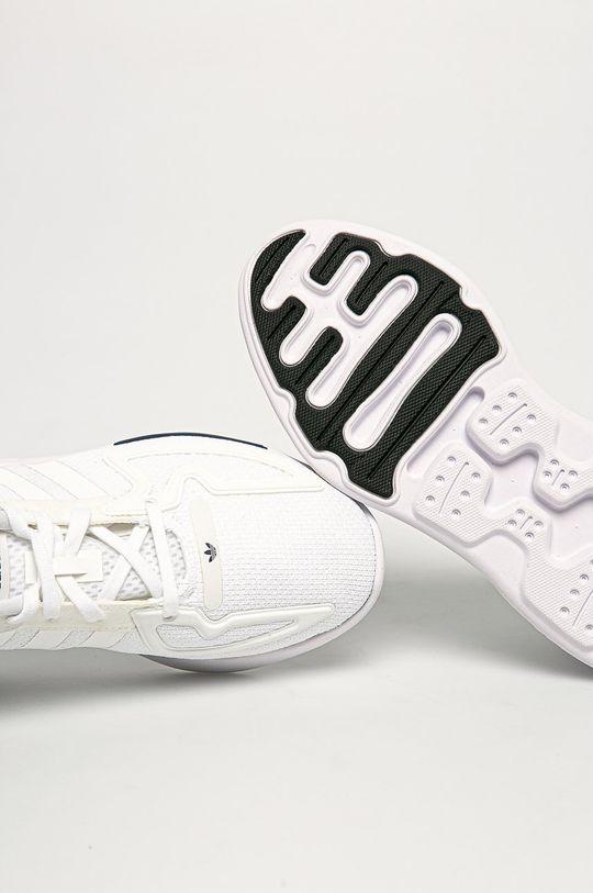 biela adidas Originals - Detské topánky ZX 2K Flux