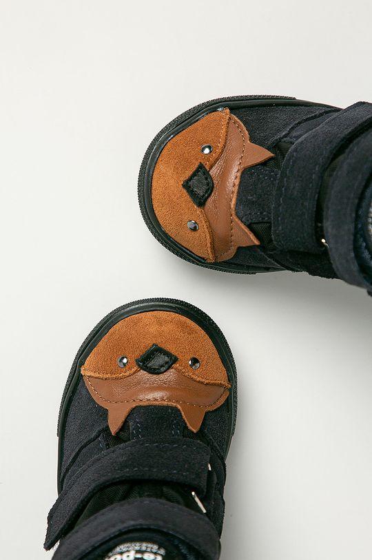 granatowy Mrugała - Buty dziecięce