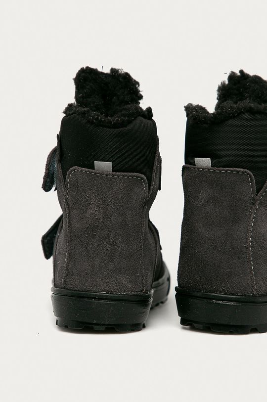 Mrugała - Pantofi din piele intoarsa pentru copii  Gamba: Material textil, Piele intoarsa Interiorul: Material textil Talpa: Material sintetic
