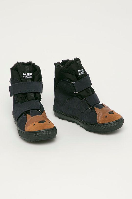 Mrugała - Buty dziecięce granatowy