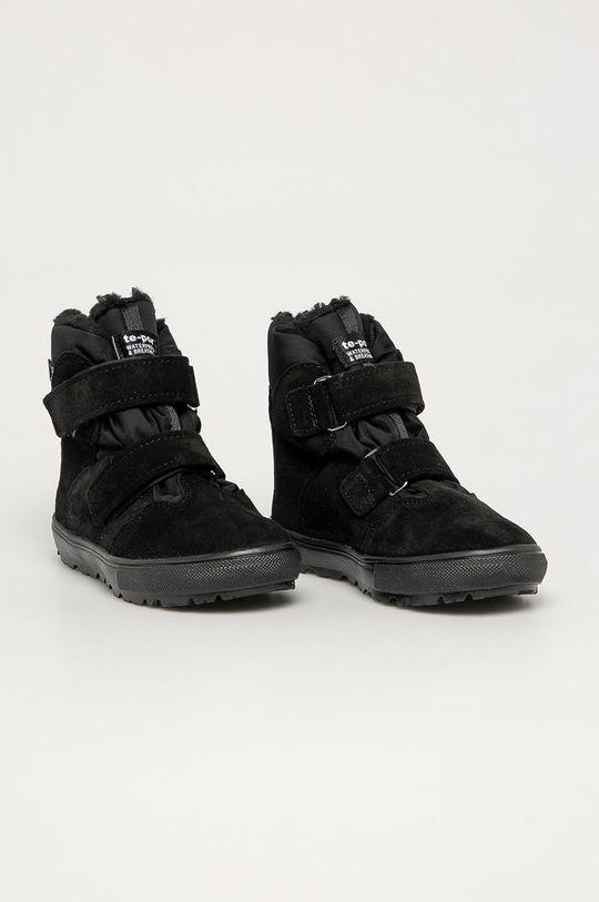 Mrugała - Gyerek cipő fekete