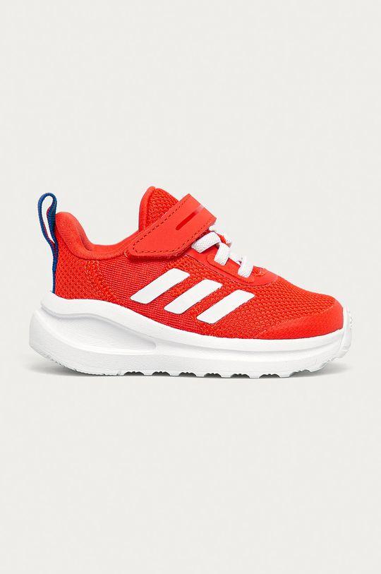 червоний adidas Performance - Дитячі черевики FortaRun EL I Дитячий
