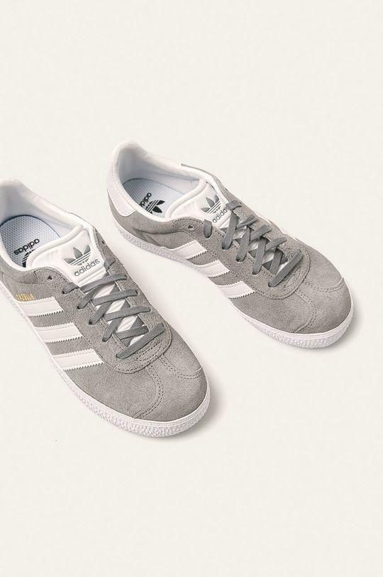 adidas Originals - Buty dziecięce Gazelle jasny szary