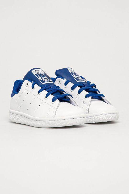 adidas Originals - Dětské boty Stan Smith C bílá