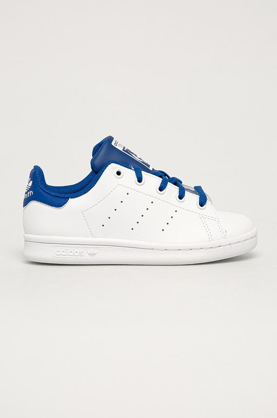 alb adidas Originals - Pantofi copii Stan Smith De copii