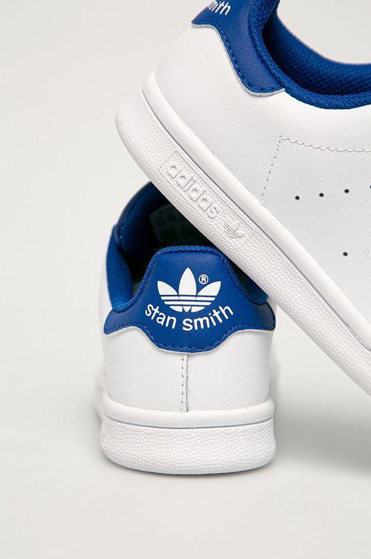 adidas Originals - Pantofi copii Stan Smith  Gamba: Material sintetic, Piele naturala Interiorul: Material textil Talpa: Material sintetic