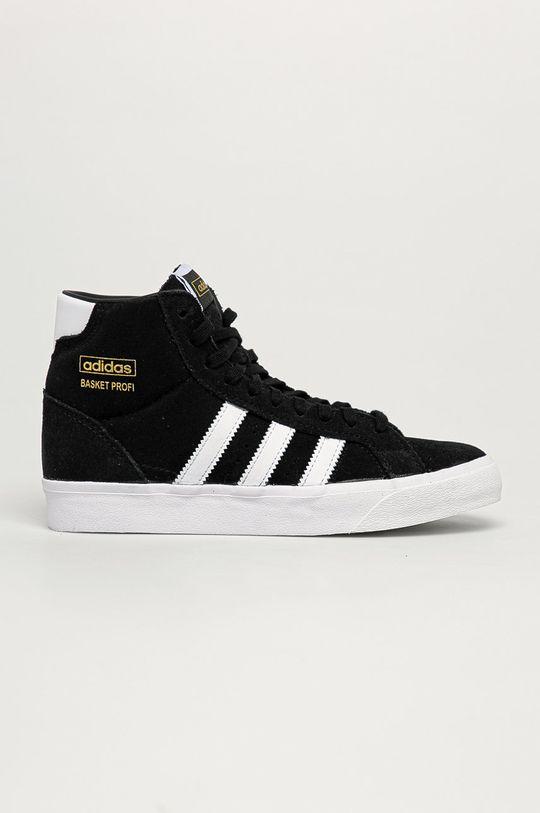 čierna adidas Originals - Detské tenisky Basket Profit Detský