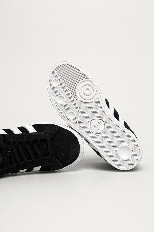 čierna adidas Originals - Detské tenisky Basket Profit