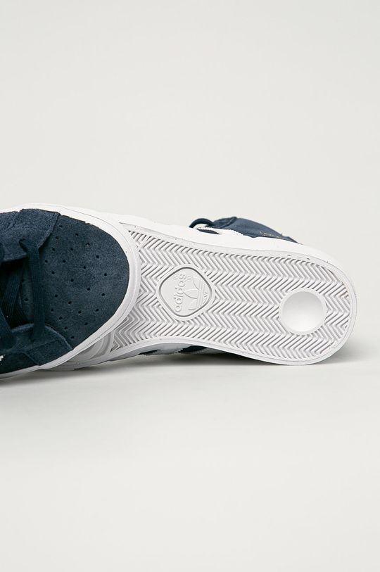 námořnická modř adidas Originals - Dětské semišové boty Basket Profi J