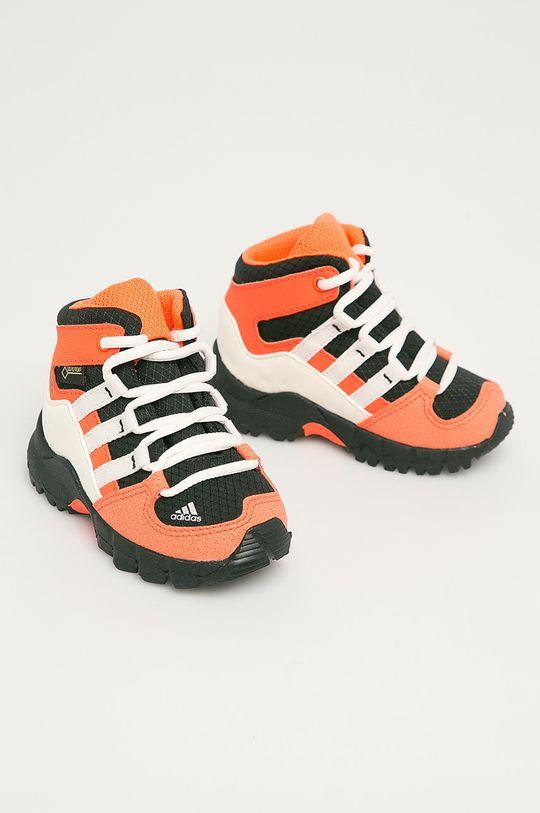 adidas Performance - Detské topánky Terrex Mid GTX I oranžová