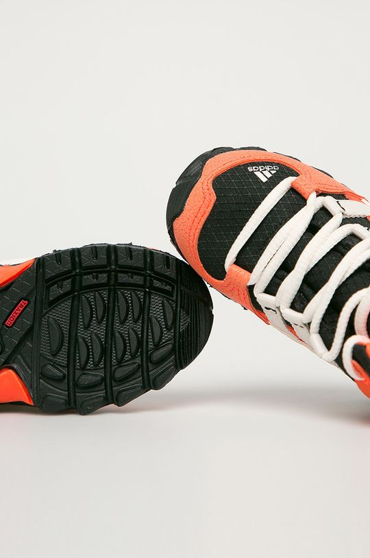 oranžová adidas Performance - Detské topánky Terrex Mid GTX I