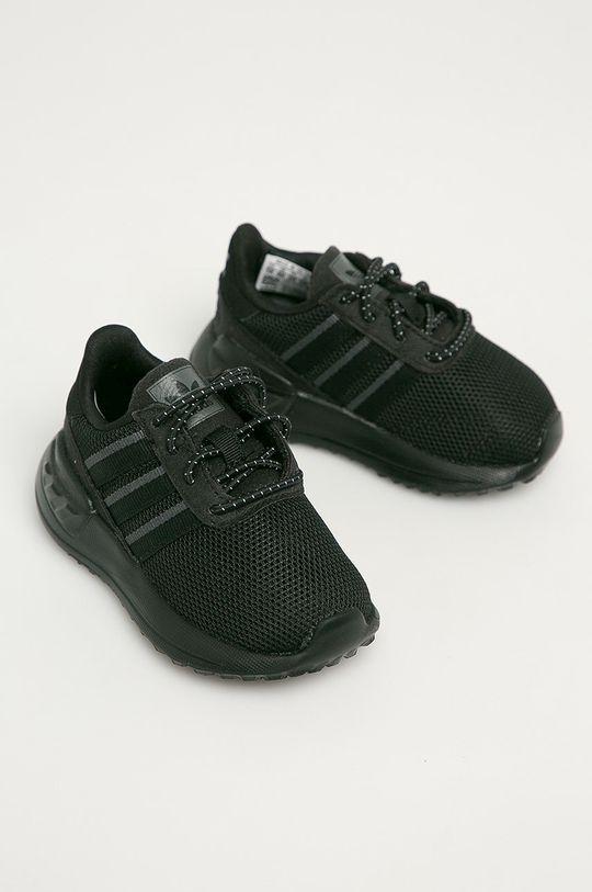 adidas Originals - Detské topánky La Treiner Lite EL I čierna