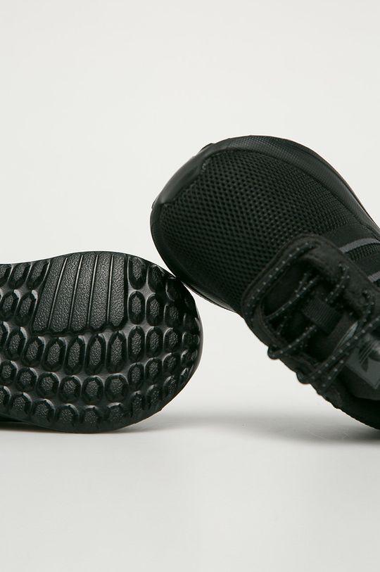 čierna adidas Originals - Detské topánky La Treiner Lite EL I