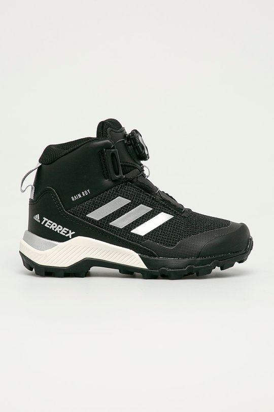 čierna adidas Performance - Detské topánky Detský