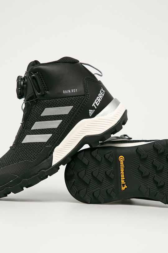 čierna adidas Performance - Detské topánky