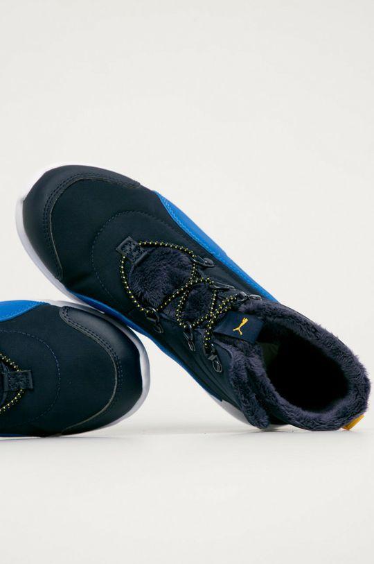 námořnická modř Puma - Dětské boty Fun Race
