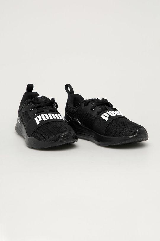 Puma - Buty dziecięce Wired Run PS czarny