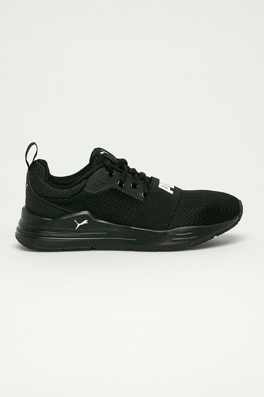 čierna Puma - Detské topánky Wired Run Jr Detský