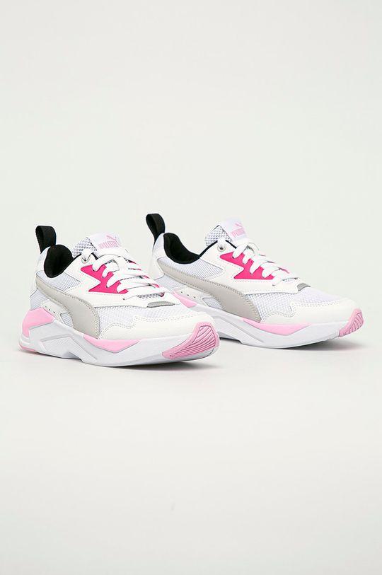 Puma - Detské topánky X-Ray Lite Jr biela