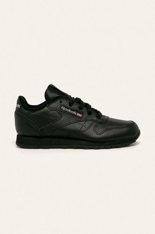černá Reebok Classic - Dětské boty Classic Leather Dětský
